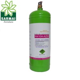 Bombola mini gas refrigerante freon R410A da LT 2,5 2 Kg Bombola Ricaricabile