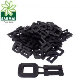 Sigilli Fibbia per reggetta 12 mm in plastica fermaglio blocca reggia manuale
