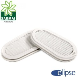 Coppia filtri P3 per maschera respiratore GVS Elipse per polveri fumi