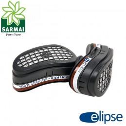 Coppia filtri A1 P3 per maschera respiratore GVS Elipse per polveri gas organici