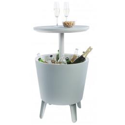 Keter Cool Bar 3 in 1 Mini frigo Portaghiaccio tavolino da cocktail giardino