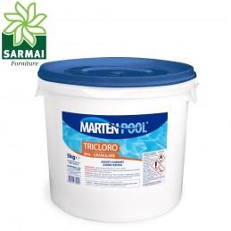 Tricloro 90% cloro in pastiglie a lenta dissoluzione per manutenzione piscine