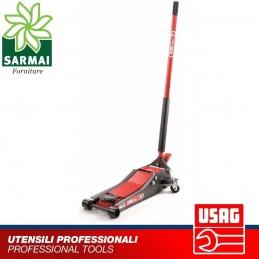 USAG 2550B 2000Kg cric sollevatore idraulico a carrello per auto garage officina