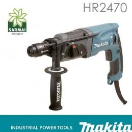 MAKITA HR2470 TRAPANO MARTELLO ROTATIVO 780 W ATTACCO SDS PLUS CON 3 FUNZIONI