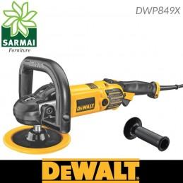 DEWALT DWP849X Levigatrice Lucidatrice 180 mm con disco lana velocità regolabile