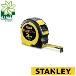 Rullina flessometro metro STANLEY FATMAX® 3 metri cassa ergonomica rinforzata
