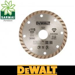 DeWALT DT3702-QZ DISCO DIAMANTATO SINTETIZZATO Ø 115 MM FORO 22,3 MM MURATURA