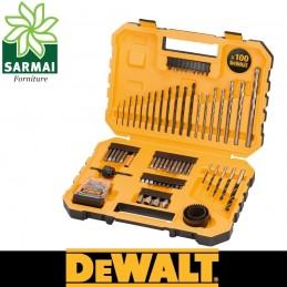 DeWALT DT71566-QZ ASSORTIMENTO 100 PZ BIT & SET DI PUNTE FORATURA AVVITATURA