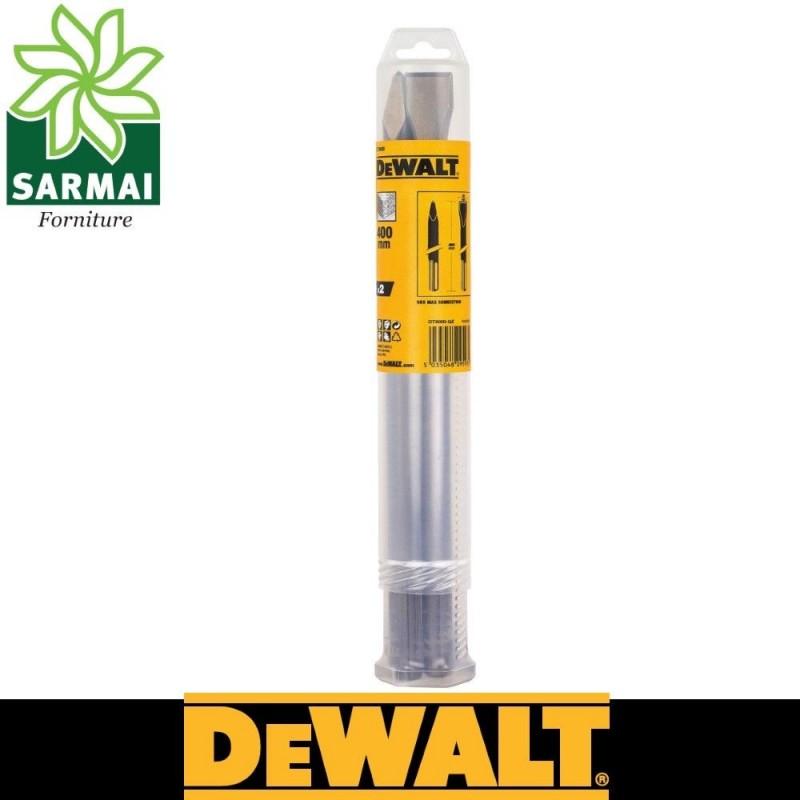 DeWALT DT9000 SET 2 SCALPELLI A PUNTA E PIATTO 400 mm SDS-MAX DI ALTA QUALITA'