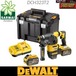 DeWALT DCH323T2 Tassellatore elettropneomatico 2,8 J SDS-PLUS Brushless 54 V