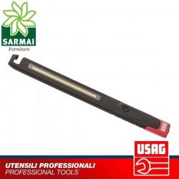 USAG 889 SA LAMPADA ISPEZIONE A LED EXTRA SOTTILE ALTA LUMINOSITÀ RICARICABILE