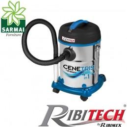 Cenetris aspiracenere 4 in 1 soffiatore aspira cenere polvere acqua 1200W 25 Lt