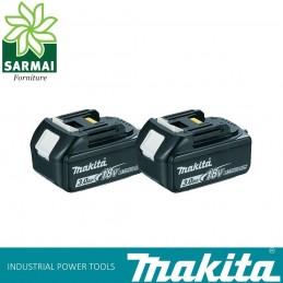 2 PZ BATTERIE MAKITA BL1830B RICAMBIO ORIGINALE LXT 18 V 3,0 Ah LI-ION con LED
