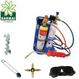 Kit cannello portatile PROFESSIONALE saldatura ossigeno brasatura 3100°C/5612°F