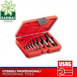 Serie estrattori conici USAG 458 S8 per perni e prigionieri danneggiati spezzati