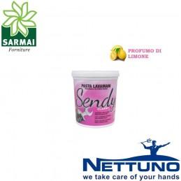 NETTUNO SENDY CLASSIC Pasta lavamani tradizionale sgrassante marrone al limone