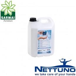 NETTUNO FLOR SOAP tanica 5 Litri sapone liquido ricarica dispencer scuole uffici