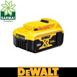 Batteria DEWALT DCB184 ricambio originale 18 volt XR 5,0 ah litio con led carica