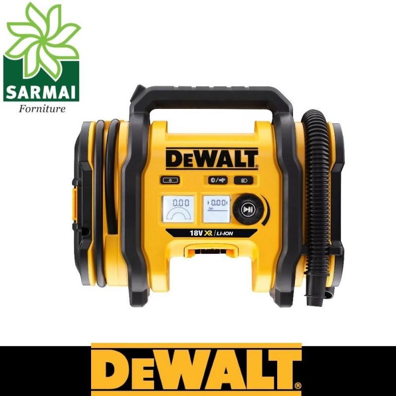 DEWALT DCC018N Compressore portatile emergenza campeggio 12V e 240V e batteria