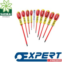 EXPERT PASTORINO E160912 ASSORTIMENTO SET 10 CACCIAVITI GIRAVITI ISOLATI 1000V