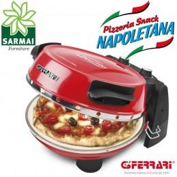 G3 FERRARI Pizzeria Snack Napoletana Forno per Pizza 2 Pietre Refrattarie 400°C