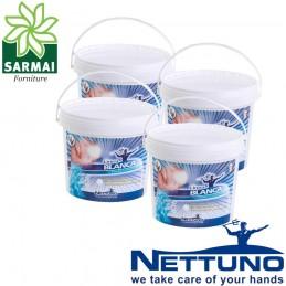4 pz NETTUNO LINEA BLANCA Pasta lavamani professionale secchiello 5000 ml