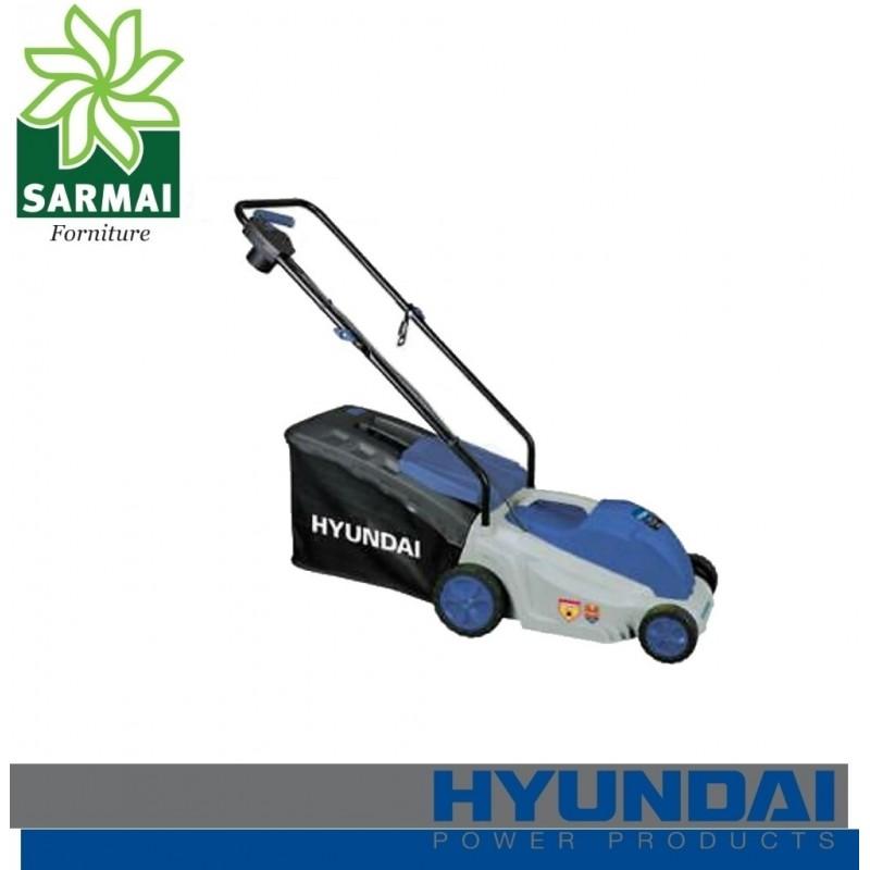 Rasaerba HYUNDAI ZF6135A tagliaerba a spinta elettrico 1600W prato giardino