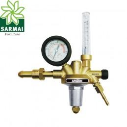RIDUTTORE DI PRESSIONE ARGON MISCELA MIX CO2 AR 200 bar SALDATURA MIG TIG