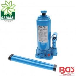 BGS 1872 sollevatore crick martinetto idraulico a bottiglia 5 T 5000 Kg