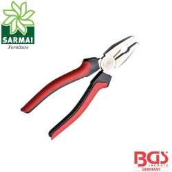 BGS 327 pinza professionale 200 mm isolata impugnature antiscivolo bicomponente