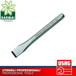 USAG 362 scalpello lama piatta riaffilabile in acciaio forgiato al Cromo Vanadio