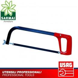 USAG 200 Seghetto lama in acciaio 300 mm orientabile impugnatura in alluminio