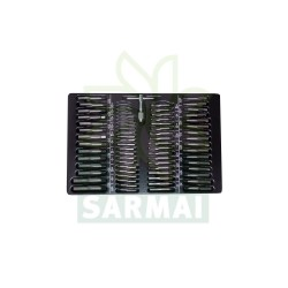 KRINO 17012500 assortimento 110 pezzi MASCHI FILIERE modello filetti tipo FIAT