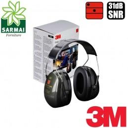 3M Cuffia cuffie temporale auricolari auricolare Peltor Optime II H520A 31 dB