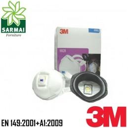 3M 9928 Maschera mascherina respiratore facciale monouso fumi saldatura 10 PZ