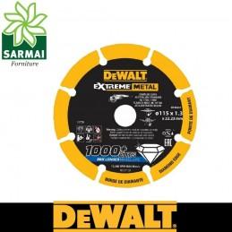 DEWALT DT40251 Disco da taglio per metalli diamantato 1000 tagli diametro 115 mm