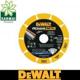 DEWALT DT40252 Disco da taglio per metalli diamantato 1000 tagli diametro 125 mm