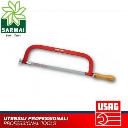 USAG 200 L seghetto sega acciaio ferro metallo lama 300 mm impugnatura in legno