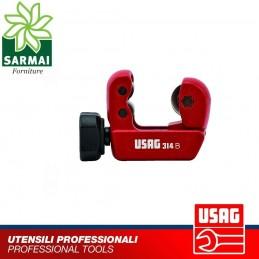 USAG 314 B tagliatubi per taglio tubi in rame lega leggera spessore max 2 mm