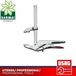USAG 136 M pinze regolabili autobloccanti nichelata a ganascia superiore mobile