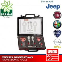 USAG 1344 K2 kit assortimento utensili messa in fase distribuzione motori diesel