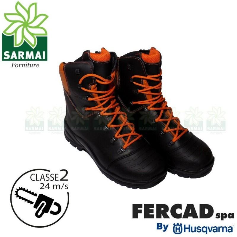 separation shoes 1bf0a 4ab34 Fercad Husqvarna scarpe antinfortunistiche stivali antitaglio SB P S3 CI  HRO SRC