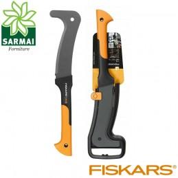 FISKARS WoodXpert XA3 roncola per taglio rami rovi spine lama acciaio temprato