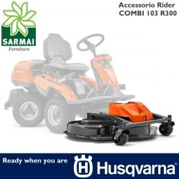 Accessorio trattorino rasaerba tagliaerba HUSQVARNA COMBI 103 R300 per Rider