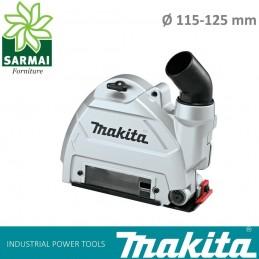 Cuffia di aspirazione polveri MAKITA per smerigliatrici 115 125 mm 180 230 mm