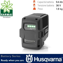 Battery Series HUSQVARNA BLi300 accessori batteria Li-on litio 36V 9,4 Ah