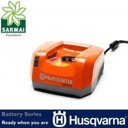 Battery Series HUSQVARNA QC330 caricababatterie batteria Li-on litio 330W 220V