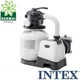 Pompa Intex 28646 filtro a sabbia 7900 l/h a 6 vie per piscina fuori terra