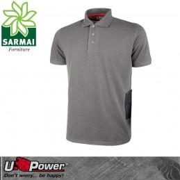 Upower GAP polo t-shirt maglietta maglia da lavoro leggera cotone e poliestere