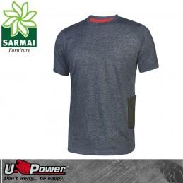 Upower ROAD t-shirt maglietta manica corta maglia da lavoro leggera cotone